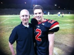 Brent w/Cameron Deane Stewart, who plays Russel in Geography Club.