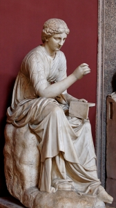 Calliope, the muse of poetry